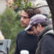 "Roma – Piazza della Repubblica set del film ""American Assassin"", Dylan O'Brien sorridente con i Fan accorsi."