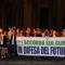 Roma, Fiaccolata Pd per il accordi sul clima al Pantheon – LE FOTO