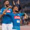 Frenata giallorossa contro un Napoli sempre più leader del campionato.