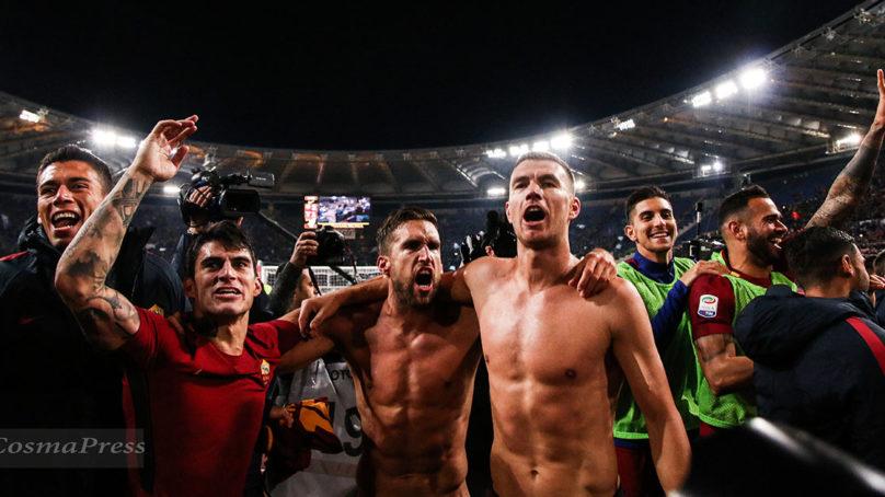 Derby – L'urlo vittorioso all'Olimpico è della Roma.