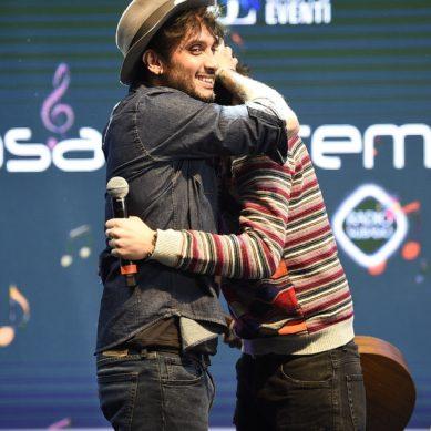 ShowCase Esclusivo di Ermal Meta e Fabrizio Moro a Casa Sanremo Vitalitys. VIDEO