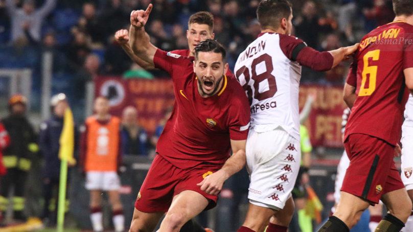 La Roma riprende a correre. Tris d'autore al Torino.
