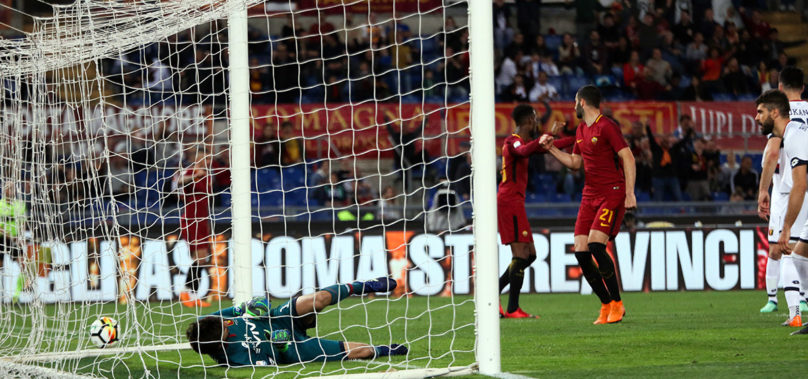 Serie A – La Roma brilla meno, ma è più cinica. Terzo posto saldo.