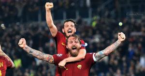 esultanza roma