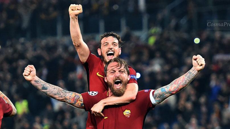 Tripudio giallorosso. La Roma annienta il Barcellona ed è in semifinale di Champions.