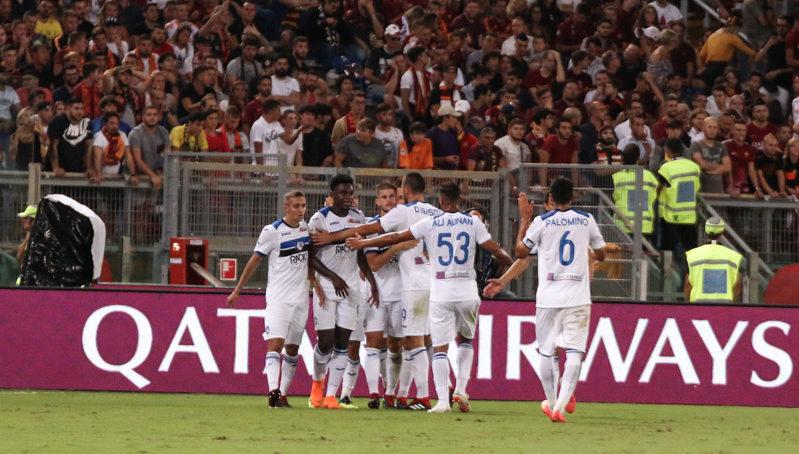 Roma-Atalanta 0-2, Zapata e De Roon piegano i giallorossi.