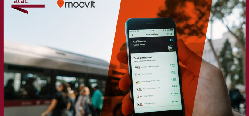 Roma, Atac e Moovit insieme per migliorare l'informazione sul servizio pubblico