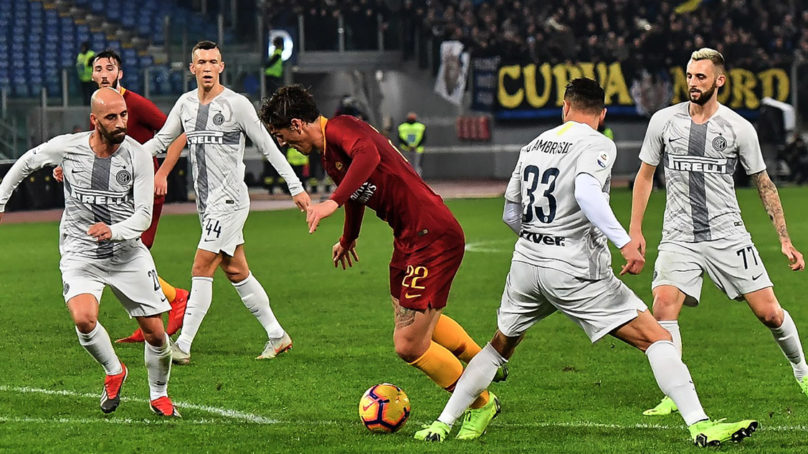 """Roma Inter, Totti """"il Var? Vergognoso quello che è successo""""."""