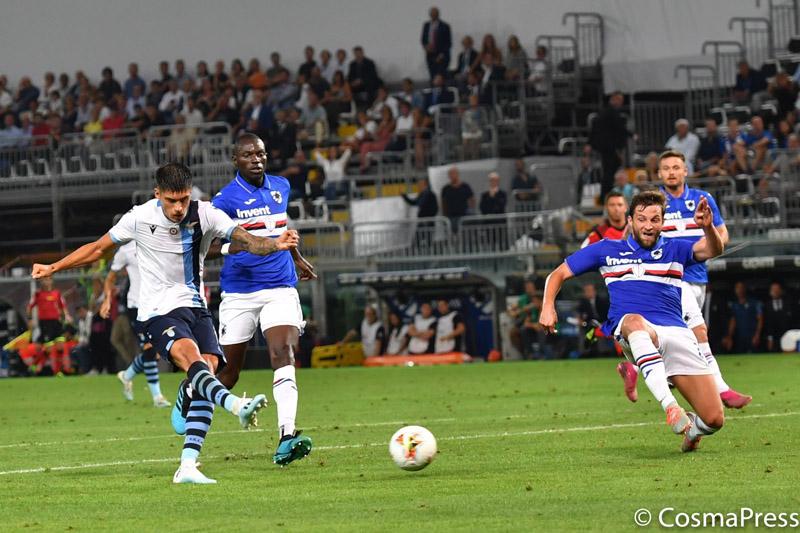 Sampdoria v Lazio, Italian Serie A.
