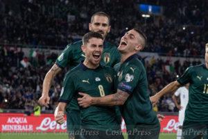 UEFA Euro 2020 Qualifier, Italy vs Greece in Rome