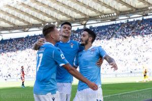 Lazio Vs Genoa in Rome, Italy[Foto Cosimo Martemucci]
