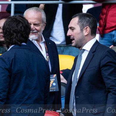 Il Ministro dello sport Spadafora assiste a Roma Napoli a2giorni dalla rivolta dei Parlamentari azzurri.