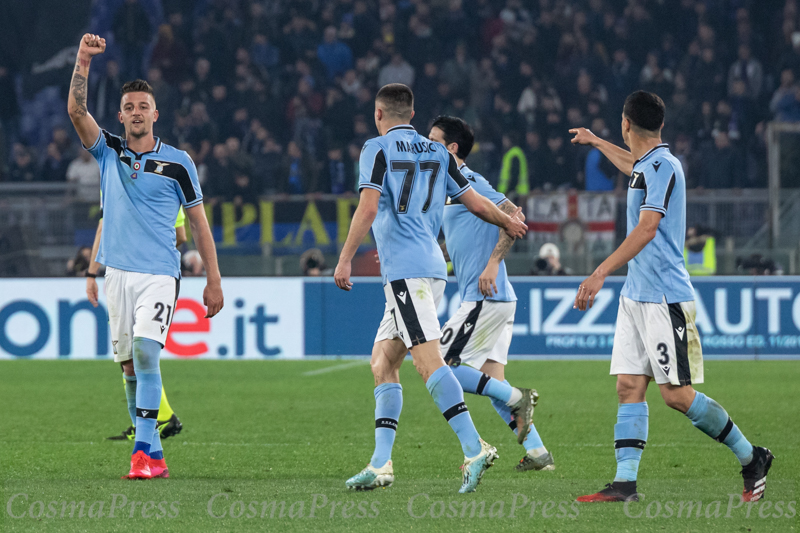 (Final score; SS Lazio 2:1 Inter)