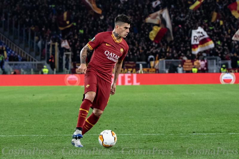 AS Roma Vs KAA Gent in Rome, Italy