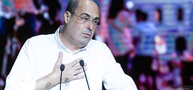 """Nicola Zingaretti: """"Sono positivo al Coronavirus """""""