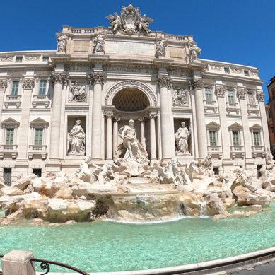 Video – Roma, il centro storico tra magia e solitudine ai tempi del Coronavirus.